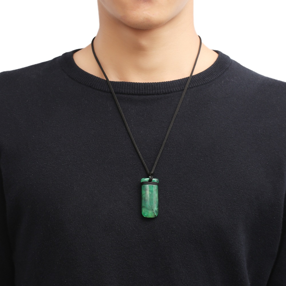 606d3c84a7c9 2018 Aquaman Cosplay Arthur Curry Necklace Green Pendant Aquaman  Accessories Souvenir Gift Halloween party Prop-in Costume Props from  Novelty   Special Use ...
