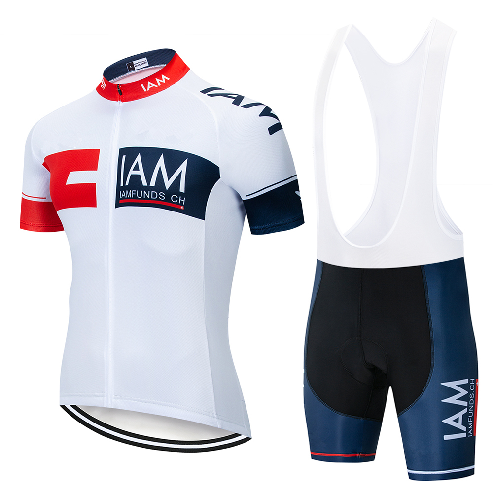 IAM Cycling Set 2019 Cycling Jersey Summer Team Short Sleeves Bike Clothing Ropa Ciclismo Cycling Clothing Sports Suit