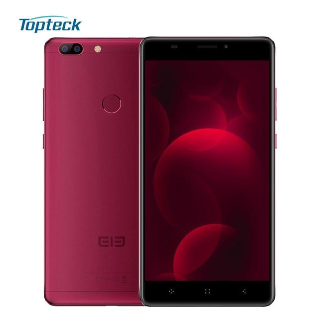 "Elephone C1 Max 4G 6.0"" 1280*720 Fingerprint OTG Smartphone Android 7.0 MTK6737 Quad Core Cellphone 2GB+32GB 13MP Mobile Phone"