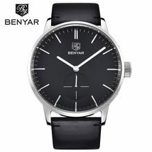 BENYAR Mens Watches Luxury Quartz Watch Military/ Sports / Leather Man Waterproof Clock Men Wristwatch Relogio Masculino