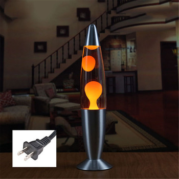 Metal Base Volcano Lava Lamp