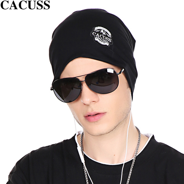 CACUSS hat man spring Korean hip-hop cap sleeve head Hat Lady cotton cap turban tide