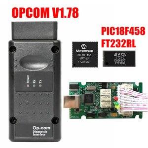 Image 3 - Opcom Firmware V1.59 V1.65 V1.70 V1.78 V1.95 V1.99 PIC18F458 + Ftdi Chip Op Com 1.99 Nieuwste Sw 2014 Op  com Voor Opel
