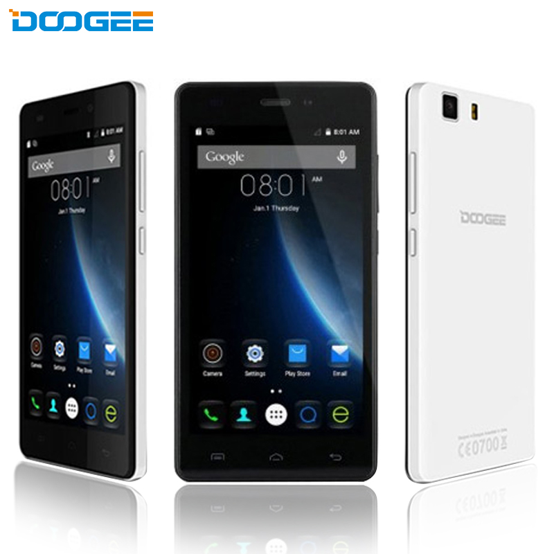 "Original Doogee X5 Pro Cell Phone MTK6735 Quad-Core 2GB RAM 16GB ROM Android 5.1 OS 5.0"" IPS Screen 8MP Camera 4G LTE Smartphone"