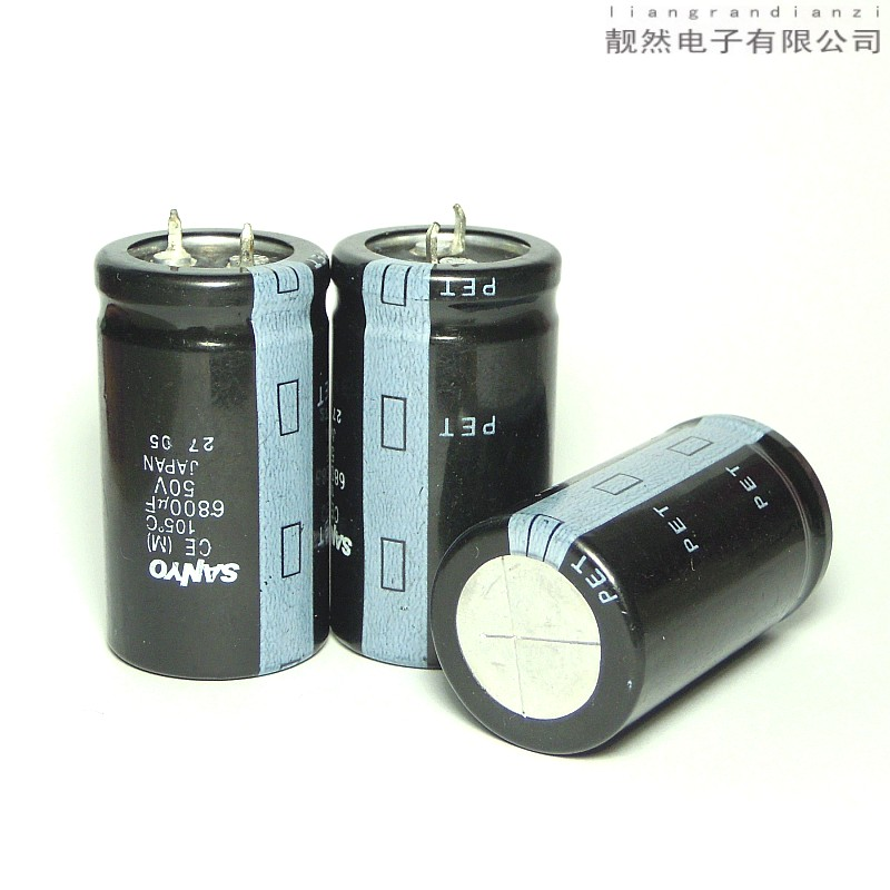 ФОТО Japan original PET 6800uF 50V 25x45 HIFI electrolytic capacitors