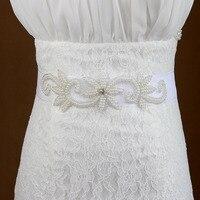 New Design Sew on pearl and Rhinestone Trimming belt For Wedding sash handmade crystal rhinestone bridal applique