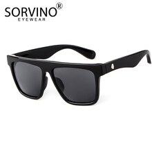 SORVINO Mens Mirror Square Sunglasses Luxury Brand Designer