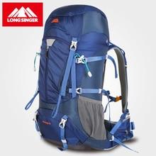 Longsinger открытый рюкзак профессионального альпинизма мешок 60L vlsivery большой емкости Дорожная Рюкзак