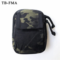TB FMA New Tactical Waist Bag Molle Pouch Multicam Black Hunting & Airsoft Small Tools Bags for Tactical Vest/Belt Free Shipping