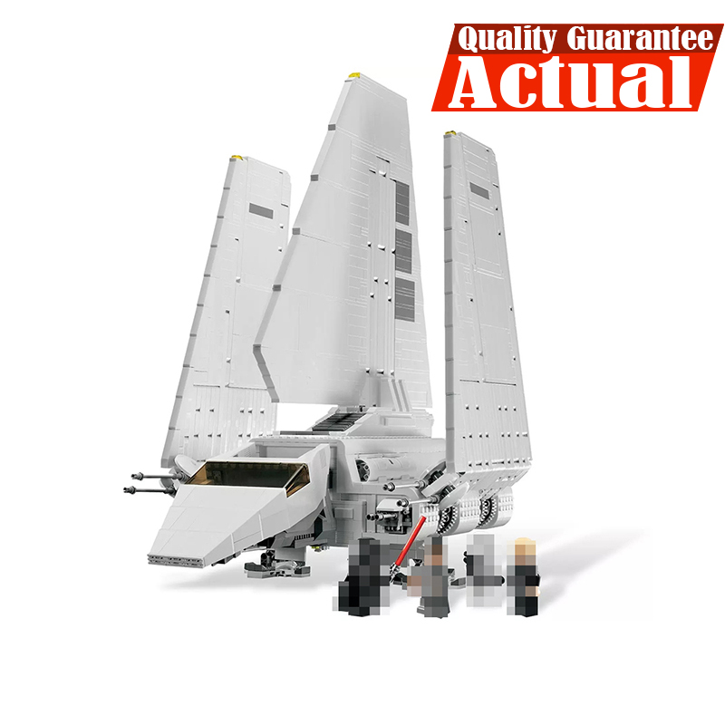 Lepin 05034 Imperial Shuttle STAR Ultimate Collector WARS Building Bricks Blocks Toys For children 2503PCS Compatible with 10212 2503pcs large star wars sets imperial shuttle spacecraft the space battle building block toys kits best technic toys for kids