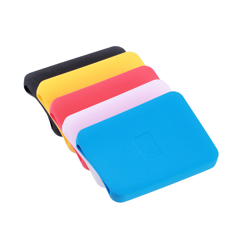XZR 2.5 Inch Hard Drive protector drop-resistance Silicon Case for slim External hard drive Shockproof cover for My Passport 1T
