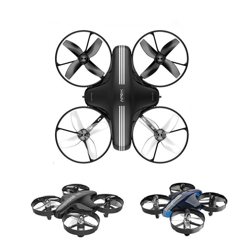 Mini Drone RC Quadcopter Remote Control Helicopter 4CH Pocket Aircraft Headless Mode Altitude Hold Toy Dron Shipped From RU-in RC Helicopters from Toys & Hobbies