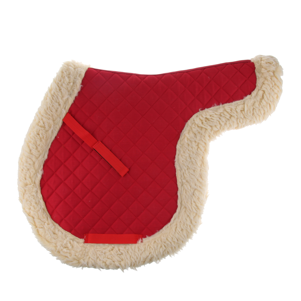 2Pcs All Purpose English Half Saddle Pad For Jumping Riding Training Eventing