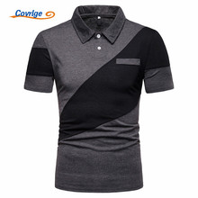 Covrlge Brand New Mens Polo Shirt High Quality Men Cotton Short Sleeve Brands Jerseys Summer Shirts MTP109
