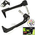 Universal Black Curved Adjustable Motorcycle CNC Pro Lever Guards For Kawasaki Suzuki Yamaha Honda KTM