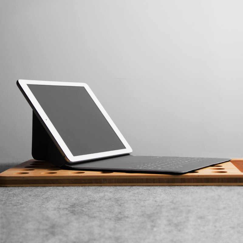 Untuk Xiao Mi Mi Pad 4 3 2 1 SAMSUNG TAB S2 8.0 Inch 7.9-8 Inci Tablet Ultra -Tipis Nirkabel Bluetooth Keyboard Penutup Case Kulit PU