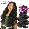 Best Peruvian Virgin Hair Body Wave 4 Bundles Human Hair 100g 7A Peruvian Hair Cheap Unprocessed Peruvian Body Wave Virgin Hair