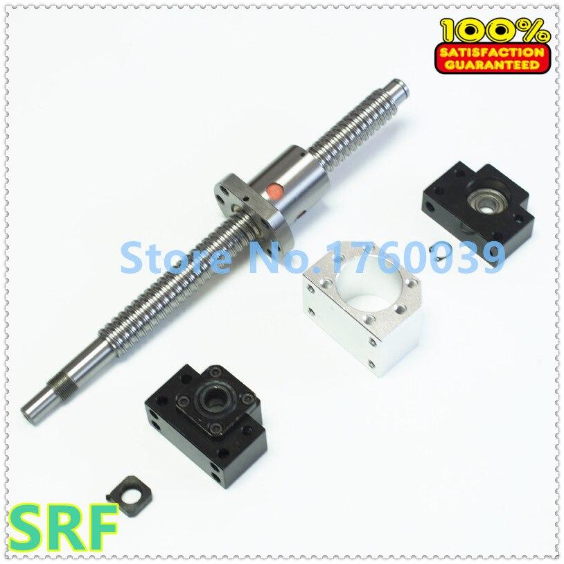 1pcs Ballscrew SFU1605 L=300mm+2 pcs SFU1605 L=900mm+3pcs single Ballnut +3set BK/BF12 support+3pcs ballnut housing