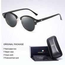 Classic Polarized Sunglasses Men women round Driving Coating