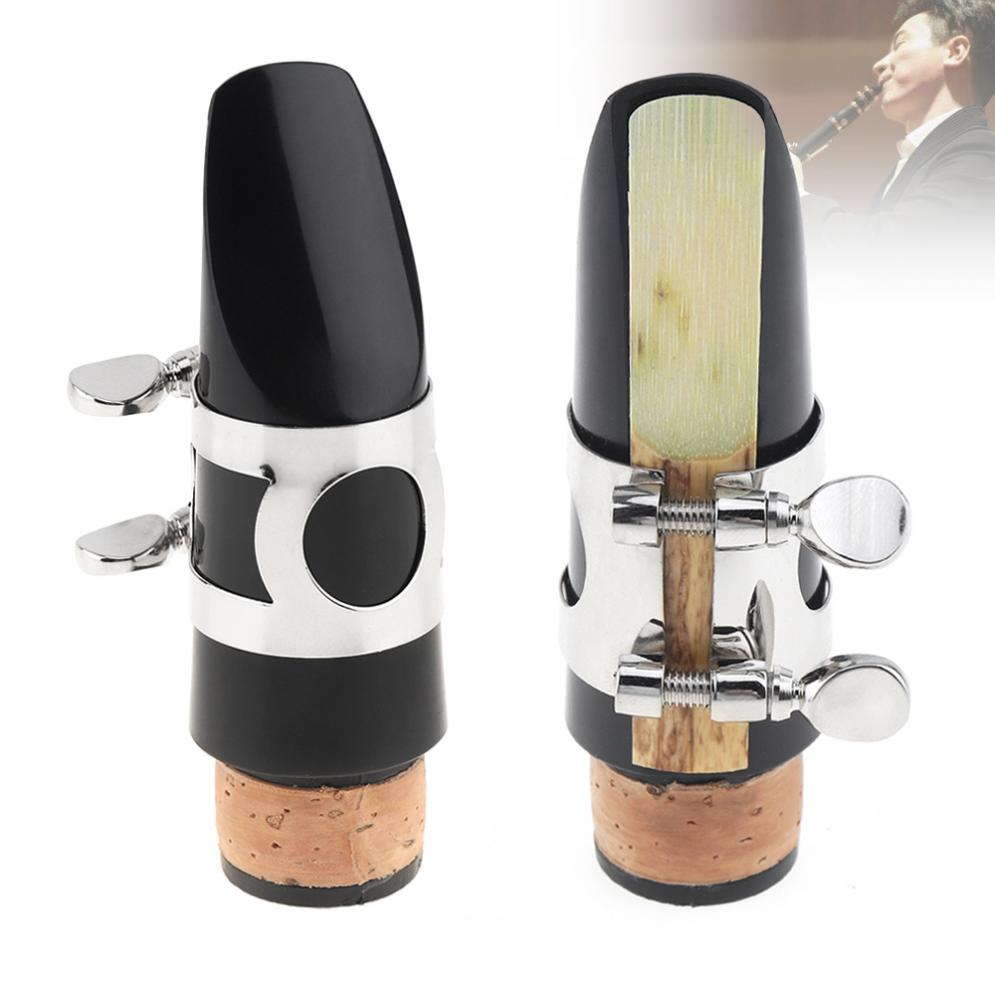 Bb Clarinet Mouthpiece Set With Cap Reed Metal Ligature Woodwind Accessories
