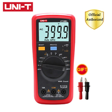 UNI-T UT136B+ UT136C+ Mini Handheld Digital Multimeter Auto Range AC DC Voltage Current Ohm Diode Cap Hz Tester