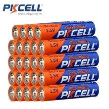 24 قطعة PKCELL الأشعة تحت الحمراء الجبين الجسم AAA LR03 سوبر بطارية جافة قلوية LR03P R03P R03 1.5 فولت 140 دقيقة ل متحكم عن بعد