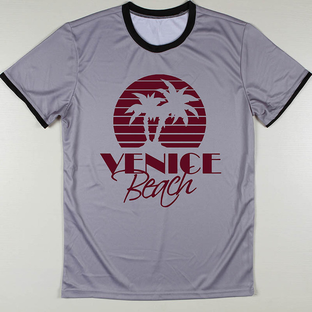 Hot Cool Beans T Shirts Men Venice Beach Top Tee Sepultura Boys Camiseta Round
