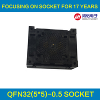 QFN32 MLF32 NP506 032 059 C G Socket IC Test Socket Burn In Socket Opentop Chip