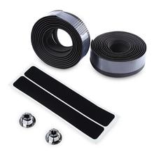 Carbon Fibre Non Slip Cycling Road Bike Bicycle Handle Belt Strap Bandages Set