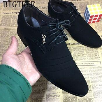 Zapatos formales estilo Oxford para Hombre, calzado de vestir, boda, oficina, deportivo,...