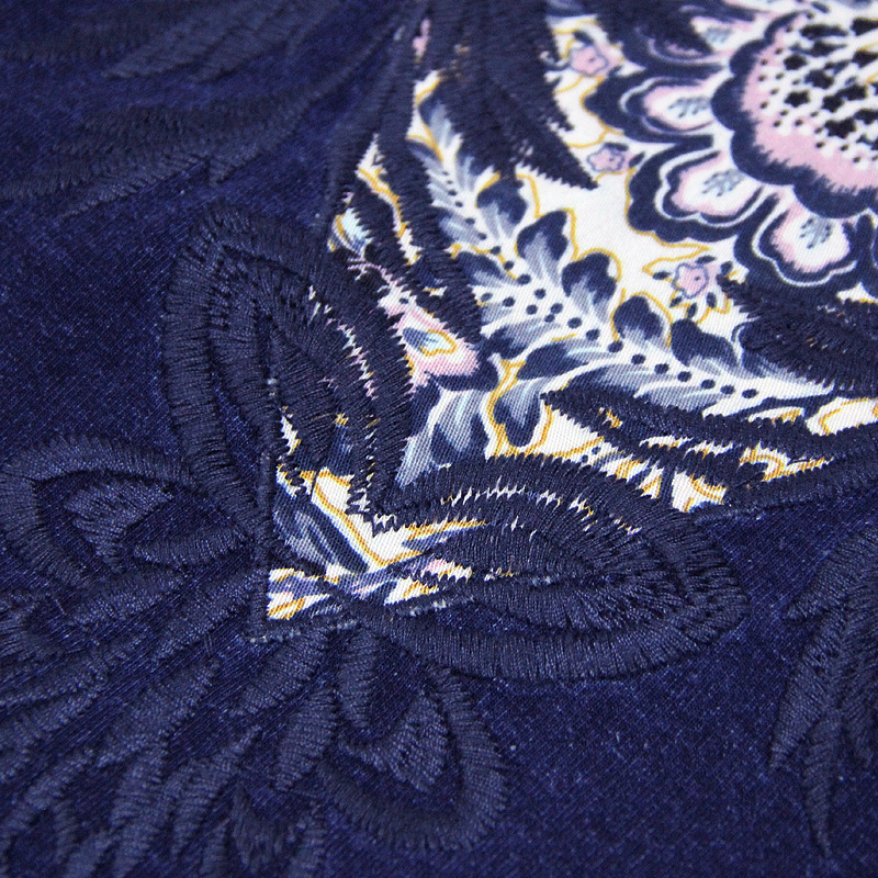 Denim Hoodies Col Nouveau Bodywear Hiver Broderie Cowboy Printemps Stand De Plaque Sweat Veste Boucle 2018 Bleu Vêtements Femmes wx01nqzSUR