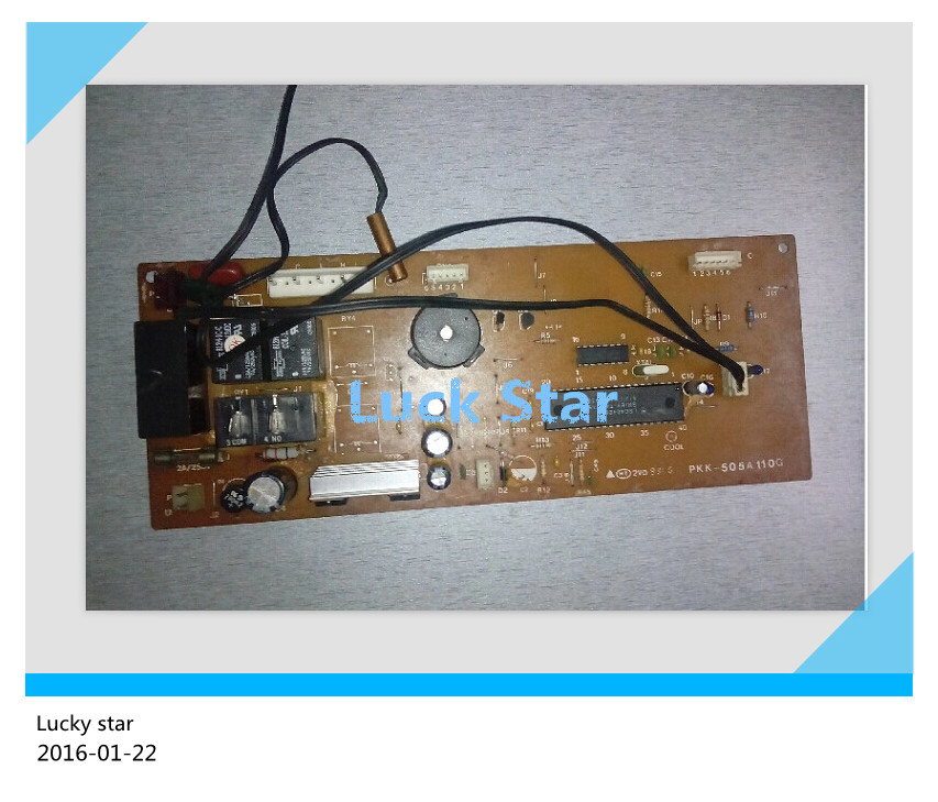 цена на 95% new for Mitsubishi Air conditioning computer board circuit board RKK505A110G good working