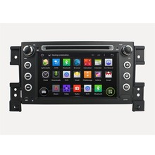Quad core RK3188 CPU 2 Din CAR DVD GPS PLAYER Android 5.1.1 1024*600 For SUZUKI GRAND VITARA WIFI 3G GPS Bluetooth Car radio