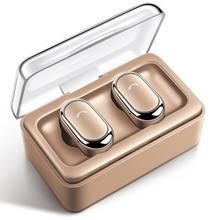 TWS D005 in-ear wireless Bluetooth headset charging bin stereo sports headset FOR:IPHONE Samsung Huawei headphones цена