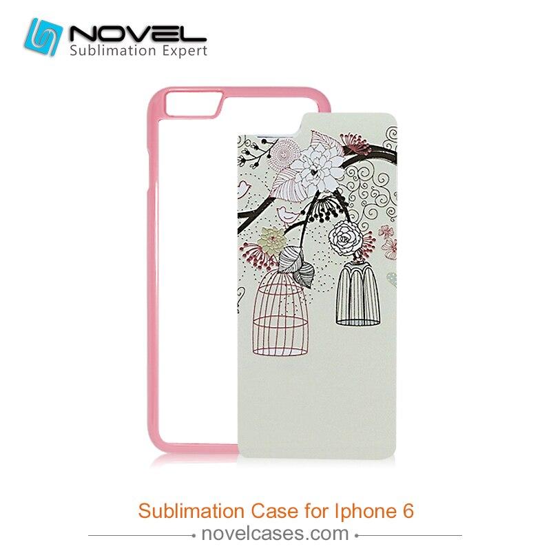 imágenes para DIY Caja Del Teléfono Caso de la Cubierta Del Teléfono de la Sublimación 2D Para iPhone6