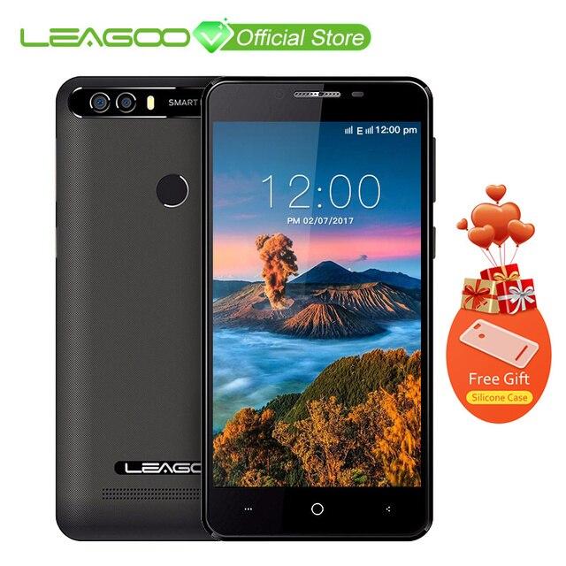Оригинальный LEAGOO KIICAA Питания Android 7,0 Dual Камера 4000 мАч 5,0 дюймов mt6580a четыре ядра 2 ГБ Оперативная память 16 ГБ Встроенная память отпечатков пальцев телефон