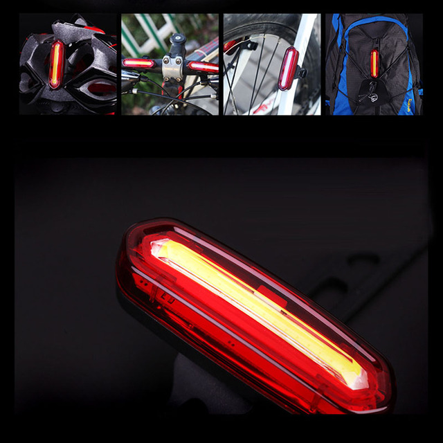 Creative led bicycle safety light six model rechargeable usb creative led bicycle safety light six model rechargeable usb mountain bike rear cycling bike lamp outdoor aloadofball Image collections