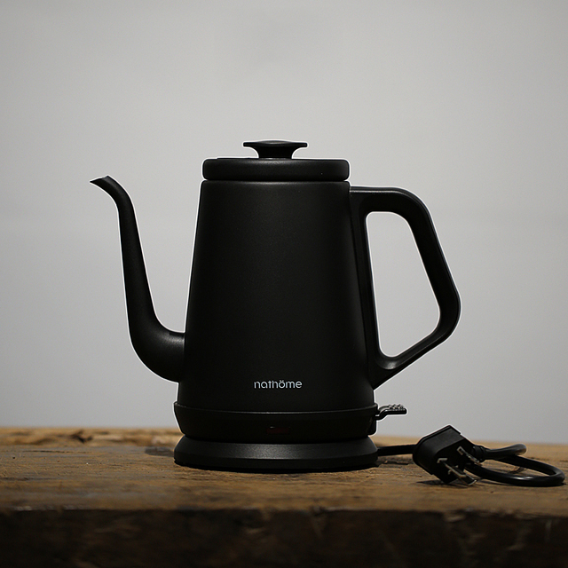 NSH1810 Classic Electric Kettle Black White 2 Colors Stainless Steel Teapot 1000ml Automatic Power-off Water Boiler