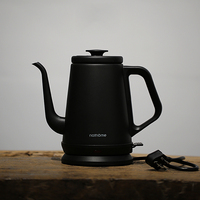 NSH1810 Classic Electric Kettle Black White 2 Colors Stainless Steel Teapot 1000ml Automatic Power off Water Boiler