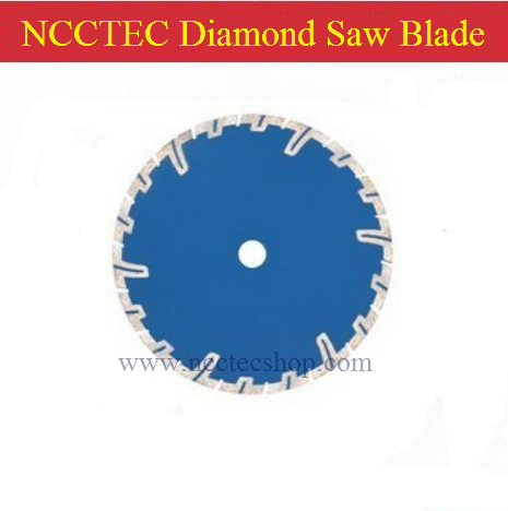 ФОТО 7'' Diamond DRY cutting disk with long short protective teeth(5 pcs per lot)/you will be regret if you don't use NCCTEC products