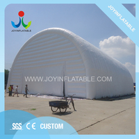 25X20X12M Temporary Commercial Large Inflatable Airtight Waterproof Storage Tent For Outdoor Party Event