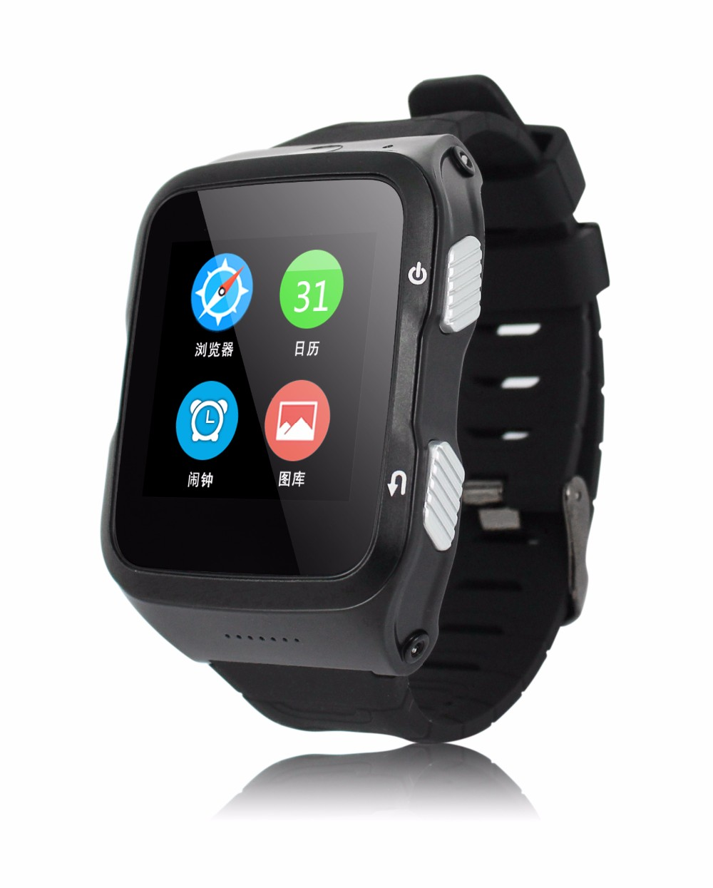 3G android phone font b watch b font with touch display gps wifi camera bluetooth 4