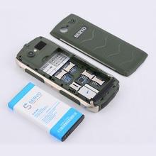 SERVO Mobile Phone 2.8 inch Quad SIM 4 SIM card 4 standby power bank charger Flashlight GPRS 3000mAh Power Bank Phone
