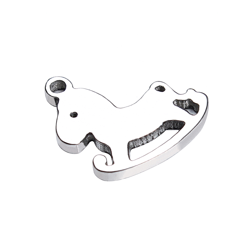 Independent 30pcs/lot Stainless Steel Cartoon Wooden Horse Charms Pendant Silver Tone Animal Charms For Bracelet Diy Jewelry Making F3575 Jewelry Sets & More