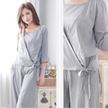 2pcs/set pregnancy pregnant coat pregnant Sleep&Lounge Nursing Pajamas Breastfeeding sleepwear for  Women hot selling