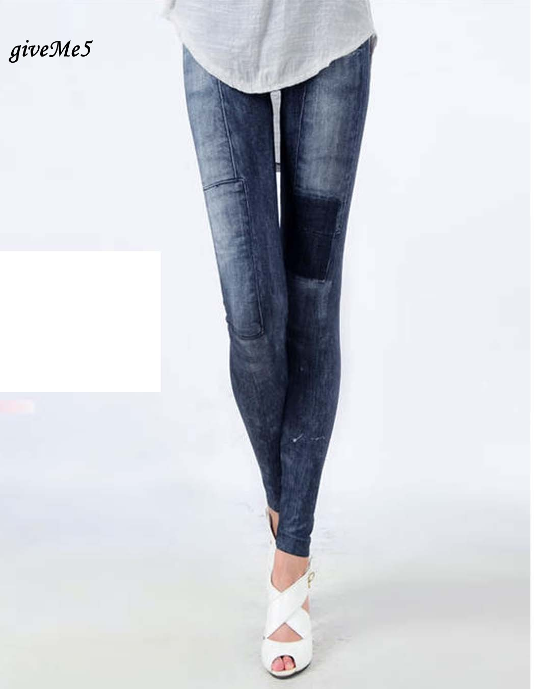 Dirt Cheap Women's Jeggings Stretch Skinny Leggings Leg Wear Pencil Pants Casual Jeans 30