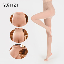 YAJIZI Breathable Tights Women High waist Sun Protection Pantyhose T crotch Nylon Stretchy Slim Stockings Female No.7869