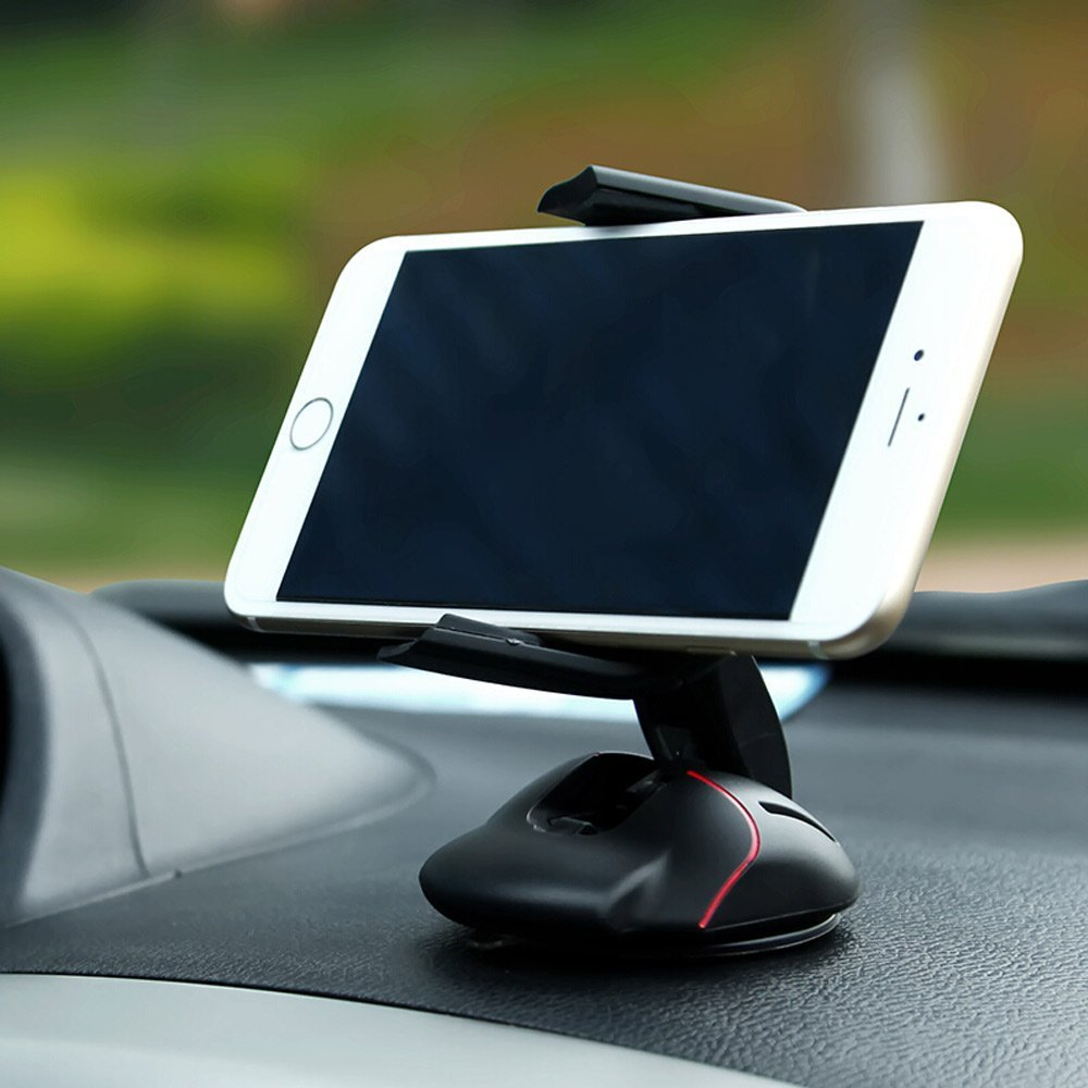 Car car-styling Office desk Phone Holder Universal 360 Windshield Mount Mouse stand for <font><b>ZTE</b></font> <font><b>C880S</b></font> Grand S3 Mighty 3C V5 pro image