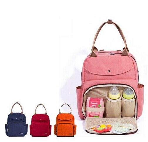 Nuan Sha Brand Wet Bag Waterproof Baby Diaper Nappy Changing Mother Mummy Backpack Shoulder Bag Handbag Nylon Baby Bags for Mum nuan pубашка