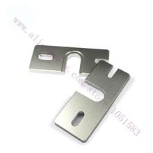 2Pcs Reprap V5 V6 HotEnd Aluminum groove mounting plate for Makergear 3d printer DIY Prusa Extruder